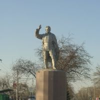 The monument to Sergey Kirov Mironovich, Рубцовск