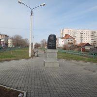 Памятник Михаилу Рубцову, Рубцовск