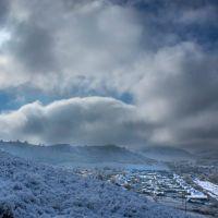 Ночью выпал  снег, Солонешное