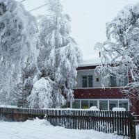 Первый снег. 24 октября 2012 года., Солонешное