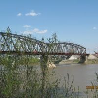 Старый мост через р. Чумыш, Тальменка