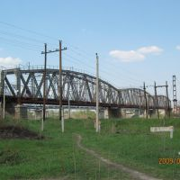 Железнодорожный мост через р. Чумыш, Тальменка