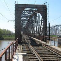 Старый железнодорожный мост через р. Чумыш, Тальменка