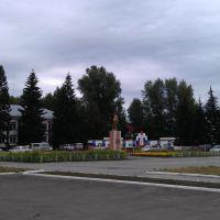 Тальменка. Главная площадь., Тальменка