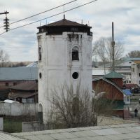 Водонапорная башня (вид с моста), Тальменка