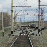 Вид в сторону станции, Тальменка