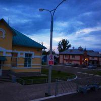 по дороге Алматы - Барнаул (162) ж/д, Топчиха