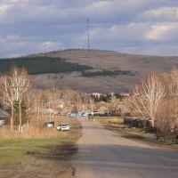 При въезде в село (со стороны Барнаула), Целинное