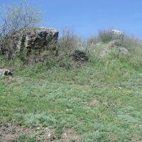 Каменные глыбы, Целинное