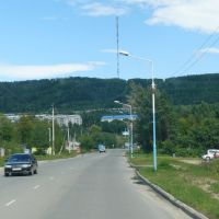 Зея из окна автомобиля: по дороге к Светлому, Айгунь
