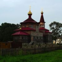 俄罗斯Russia阿穆尔州--Архара阿尔哈拉区--教堂, Архара