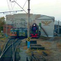 локомотивное депо, Белогорск