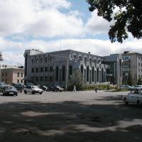 ул.Ленина и Партизанская здание Сбербанка 4133, Белогорск
