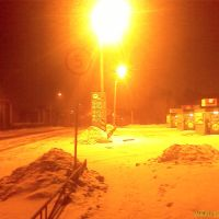 Октябрьская утром в декабре, Благовещенск (Амурская обл.)