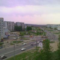 Перекресток улиц Студенческая-Институтская, Благовещенск (Амурская обл.)