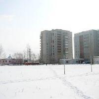 Вид со школьного двора, Благовещенск (Амурская обл.)