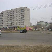 Перекрёсток Игнатьевского шоссе и Кантемирова, Благовещенск (Амурская обл.)