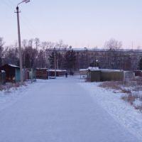 от вокзала к городку (between station and borough), Возжаевка