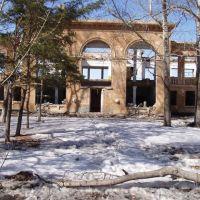 развалины столовой (rubble), Возжаевка