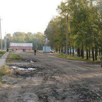у стадиона (near stadium), Возжаевка