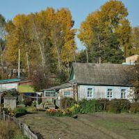 Ekaterinoslavka (2012-09) - Local houses and gardens, Екатеринославка