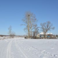 Ekaterinoslavka (2013-02) - Side road, Екатеринославка