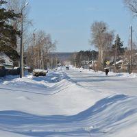 Ekaterinoslavka (2013-02) - Side road, Екатеринославка