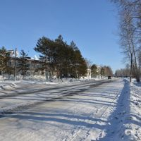 Ekaterinoslavka (2013-02) - View of main road, Екатеринославка