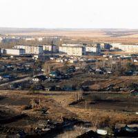 Вид на военный городок с элеватора, Екатеринославка