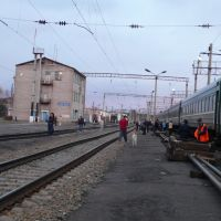 Gare de Ierofeï-Pavlovitch, Russie - mai 2007, Ерофей Павлович