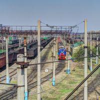 Вид с виадука, Завитинск