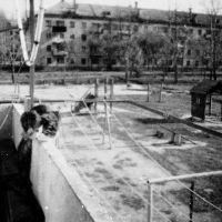 1995 год вид с ДОС 519, Завитинск
