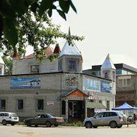 г. Зея, Рыночная площадь, ул. Мухина, Зея
