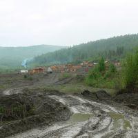 ручей Албын поселок геологов, Златоустовск