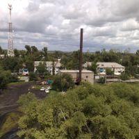 Вид с башни, Ивановка