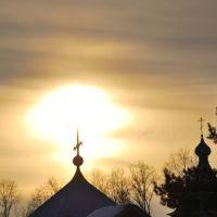Сияющий крест.Фото Александра Грабора (gralkon), Ивановка