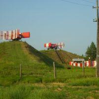 Воздушная граница на замке, Магдагачи