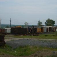 Гаражи в нижнем городке, Магдагачи