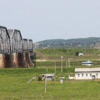 Мост через р. Бурея 8035 км Транссиба, Новобурейский