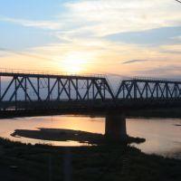 Мост через р.Томь, Ромны