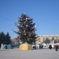 Center Svobony Square, New Years Day, Свободный