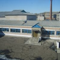 Внутренний двор школы №2, Серышево