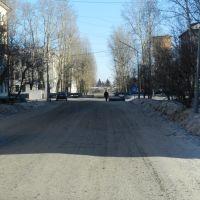 Дорога по улице Ковалева, Серышево