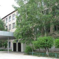 Средняя школа №1 (парадный вход), Шимановск