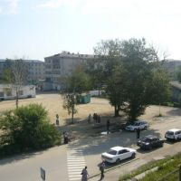 Жилые дома возле станции, Шимановск