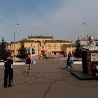 Станция Шимановская 08/10/2011, Шимановск