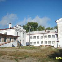 школьный дворик, Шимановск