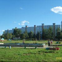 фонтан в микрахе, Шимановск