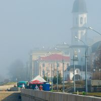 Туман наступает, Архангельск