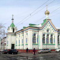 Nikolskaya church in Arkhangelsk, Никольская церковь в Архангельске, 01/04/2006, Архангельск